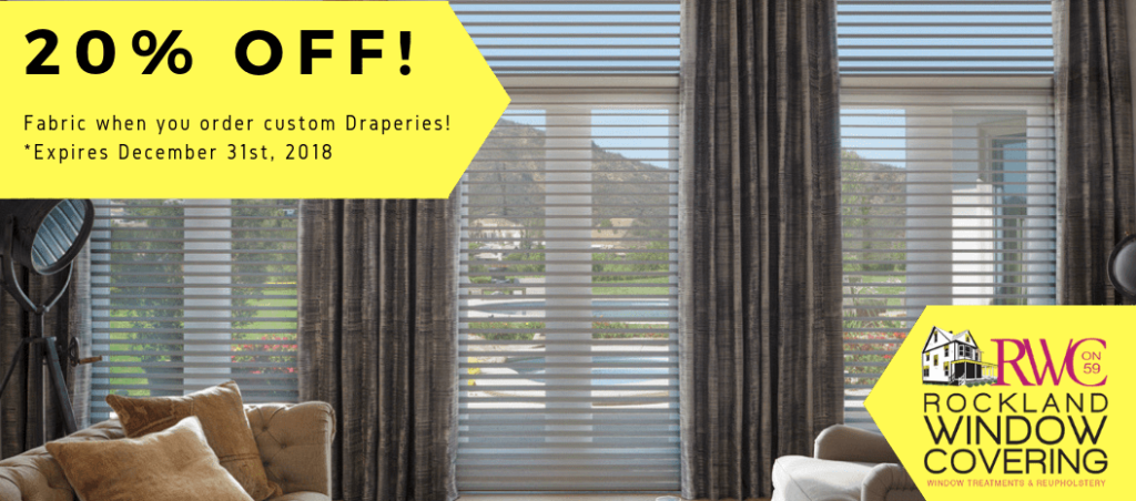 Promotion Draperies and Curtains