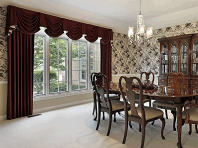 Drapes, curtains, valances, sheers & panel services