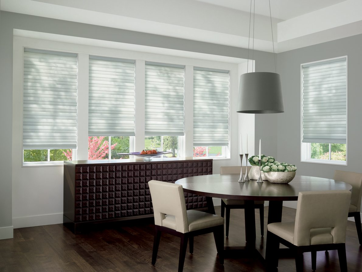 Custom Roman Shades for Dining Rooms in Spring Valley, New York (NY)