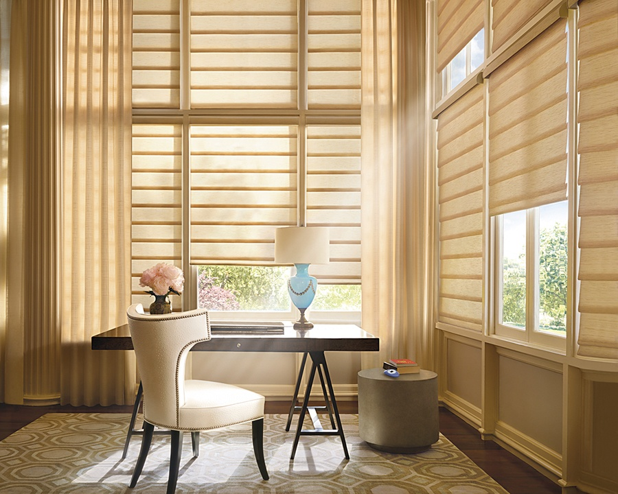 Custom PowerView Window Treatments in Silver Springs, New York (NY)