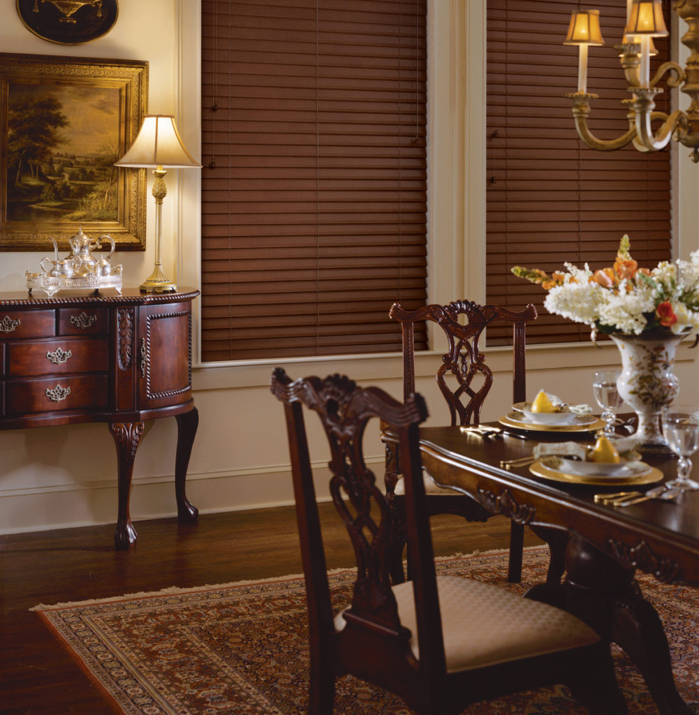 Home Benefits of Custom Faux Wood Blinds in Saddle River, NJ