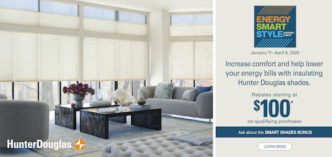 Hunter Douglas Season of  Style Savings Event Near Spring Valley, New York (NY)